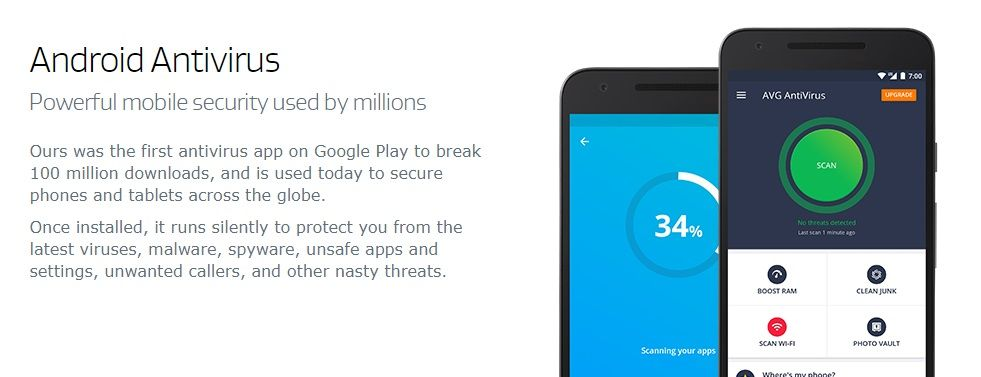 AVG AntiVirus 2021 for Android Security