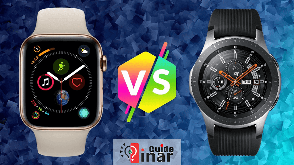 Apple Watch Series 4 vs Samsung Galaxy Watch Comparison of features design and prices
