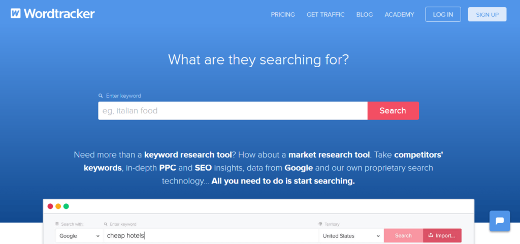 Best Seo Tools to Search for Keywords [WordTracker]