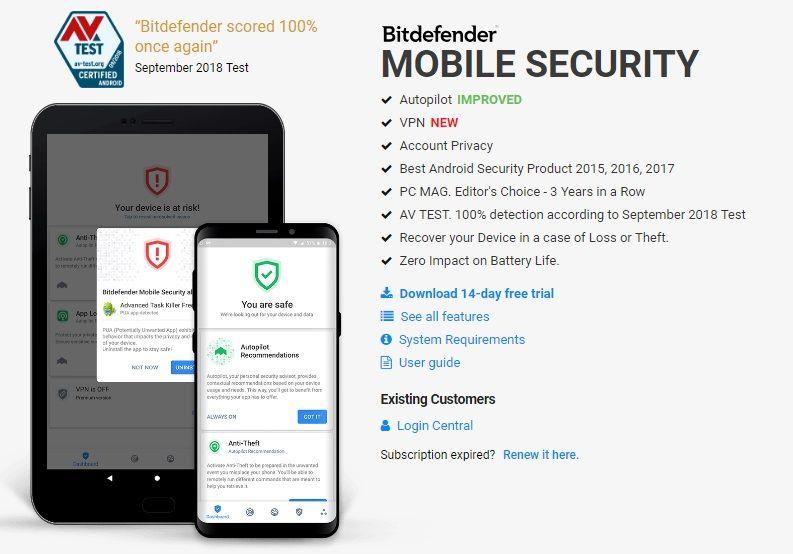 Bitdefender Antivirus Free a Powerful Antivirus App
