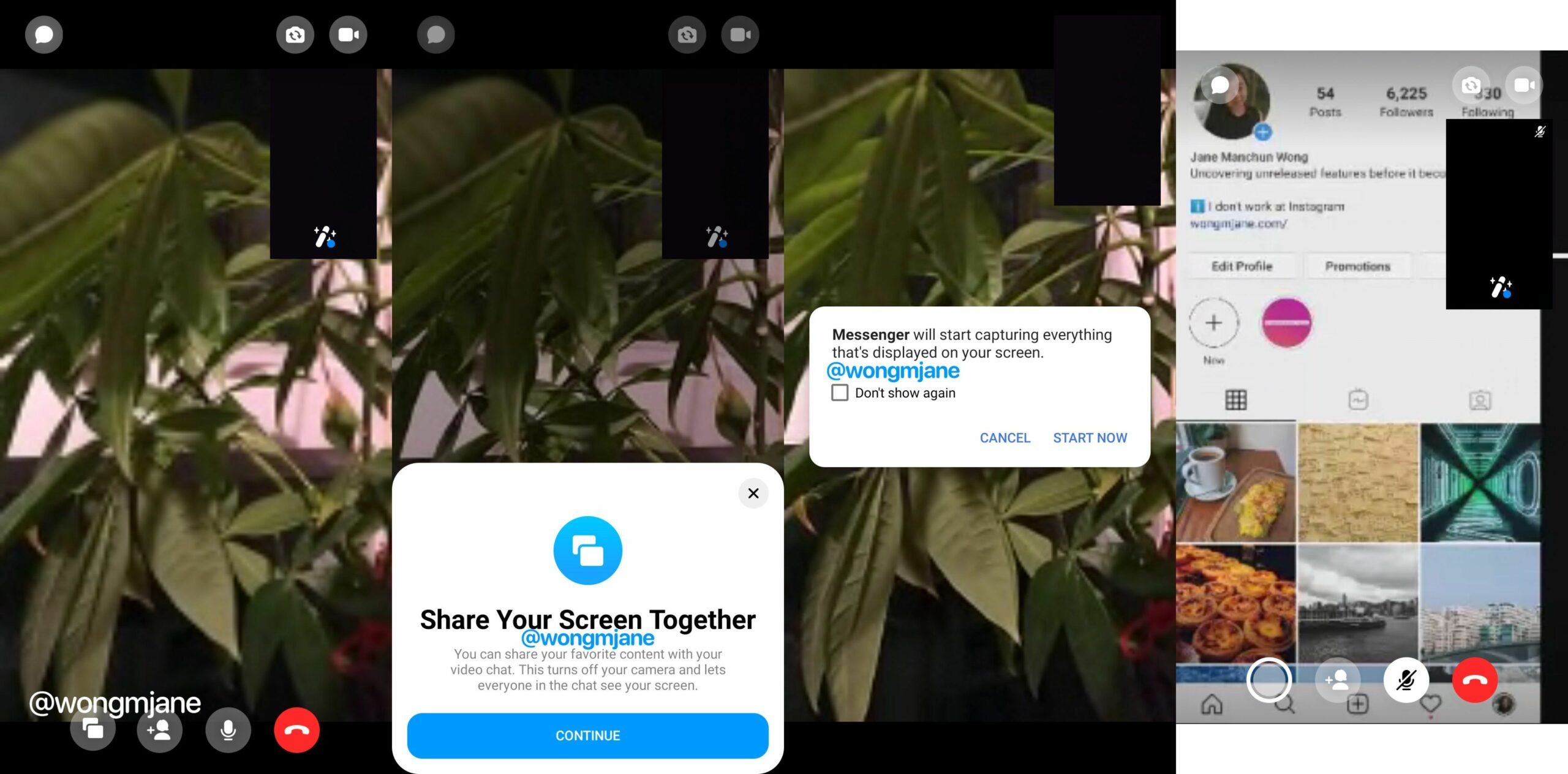 Facebook is bringing a screen sharing feature to Messenger