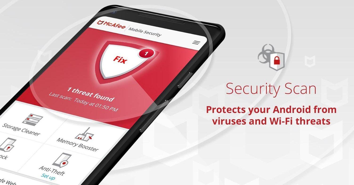 McAfee Mobile Security Antivirus Anti Theft Safe Web