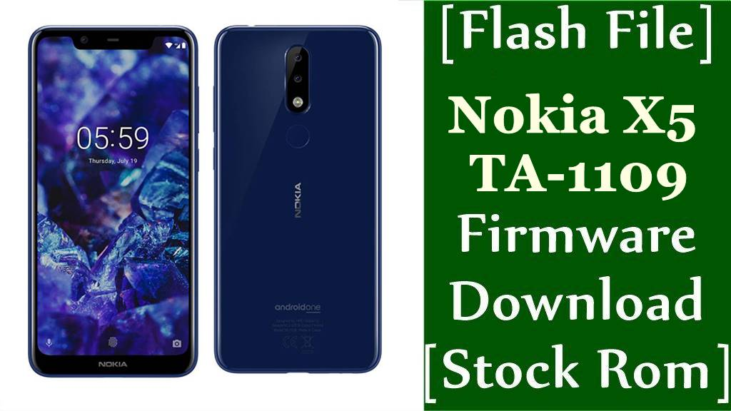 Nokia X5 TA 1109 Firmware Flash File Download Stock Rom