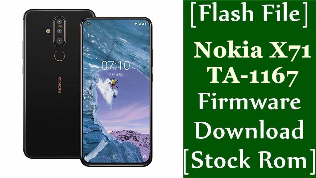 Nokia X71 TA 1167 Firmware Flash File Download Stock Rom